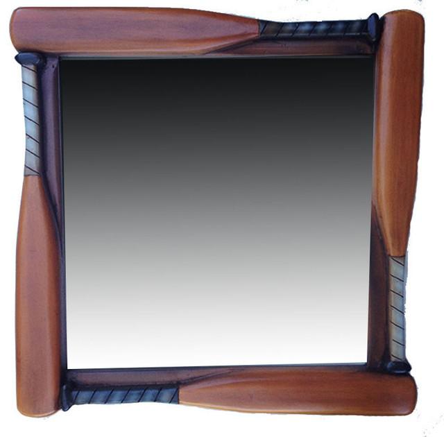Baseball bat kids room mirror traditional kids mirrors for Kids room mirror