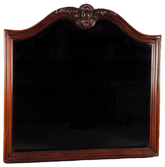 Large Mahogany Mirror - Traditional - Bedroom Furniture - by Niagara Furniture