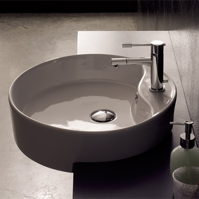 Recessed Bathroom Sink : ... Semi-Recessed Sink - Contemporary - Bathroom Sinks - by TheBathOutlet