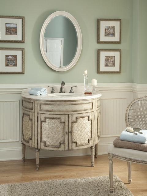 44 patrician capiz shell single bath vanity traditional - Capiz shell bathroom accessories ...