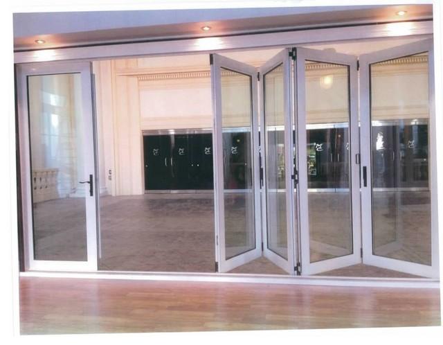 Bi-Fold Glass Doors - Modern - Windows And Doors - edmonton - by Apollo Sunrooms Inc