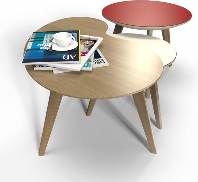 Les tables basses NUBES 45, 60 et 80 cm contemporary-coffee-tables - contemporary-coffee-tables