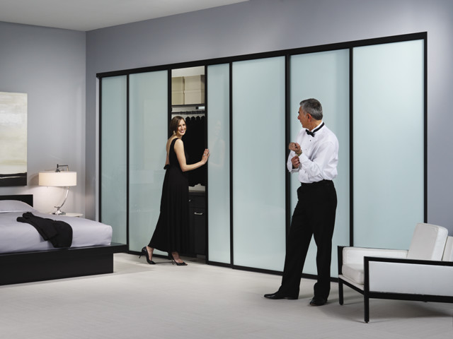 Master bedroom closet doors contemporary denver by for Sliding door company
