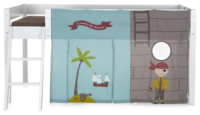 pirate tente pour lit d 39 enfant mi haut contemporain accessoire de chambre enfant par. Black Bedroom Furniture Sets. Home Design Ideas