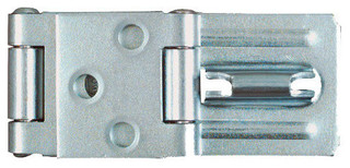 """3-1/4"""" Zinc Plated Double Hinge Safety Hasp - Traditional ..."""