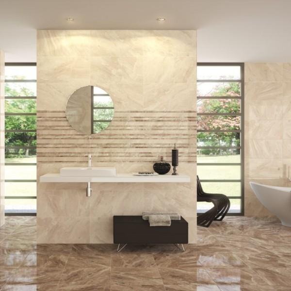 Popular Cream Subway Tile Bathroom Traditional With Tile Floor Towel Bar