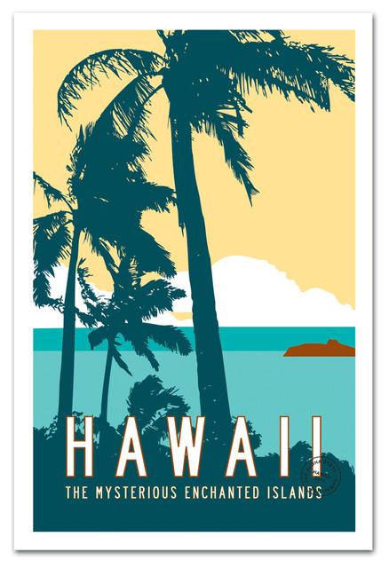Vintage Hawaii Poster ...