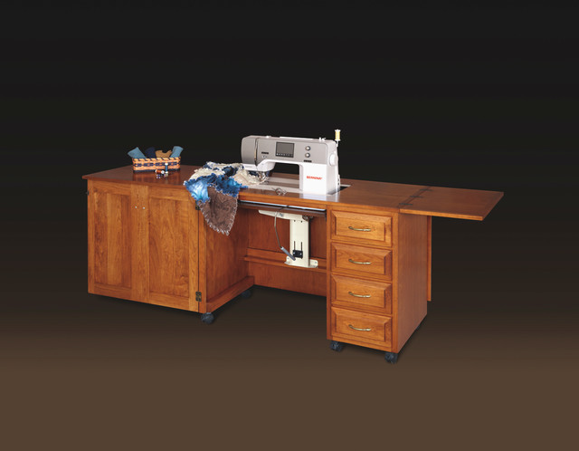 Traditional Cherry Sewing CAbinet - Traditional - Cleveland - by Schrocks of Walnut Creek