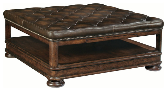 Bernhardt Furniture Normandie Manor Cocktail Ottoman Modern Coffee Tables By Unlimited