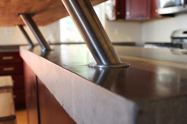 Bar Brackets Modern Kitchen Countertops Salt Lake