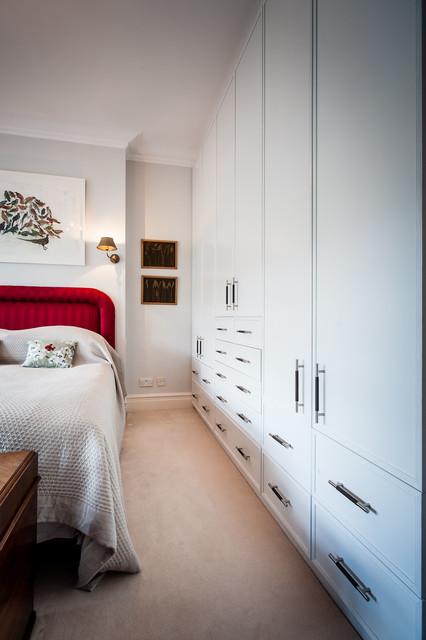 Master bedroom north london for Interior designers north london