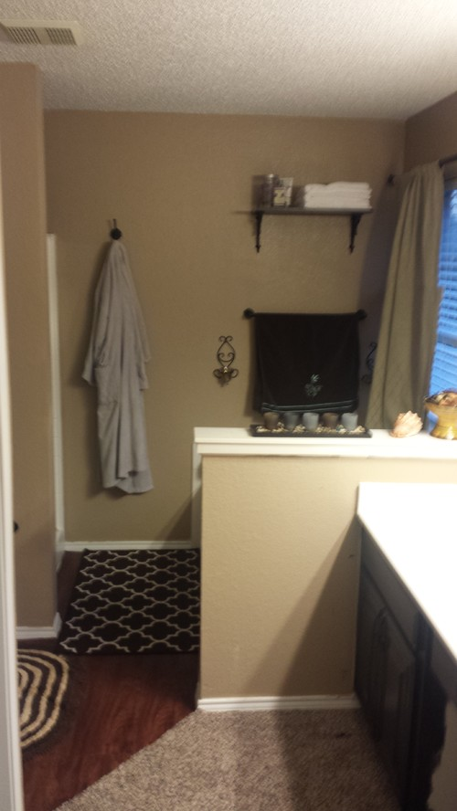 Low Cost Remodel Master Bath
