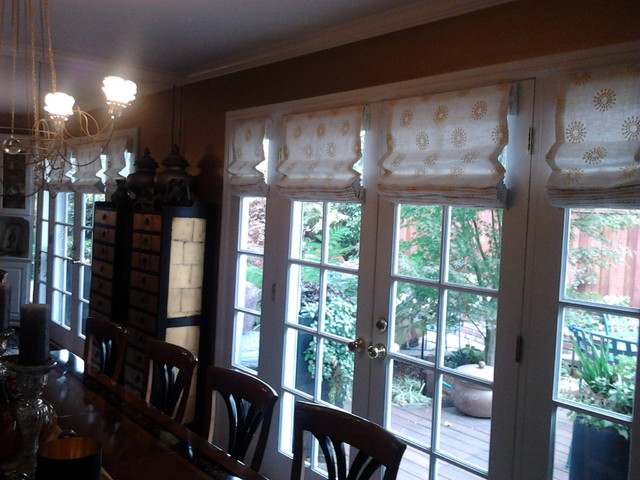 Smith and noble window treatments traditional roman for Smith and noble shades