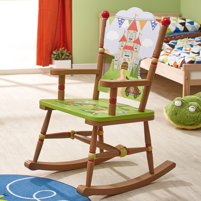 Knights & Dragons Rocking Chairs Contemporary Kids