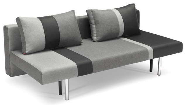Banquette lit modulable maison design - Canape convertible contemporain design ...
