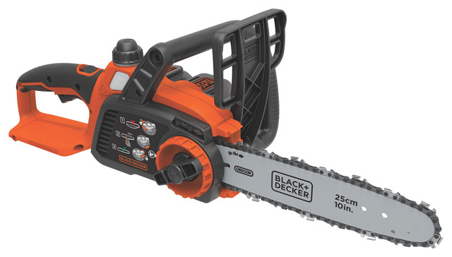Black and Decker LCS1020 40 Volt Lithium Ion Chainsaw - Contemporary - Outdoor Power Equipment ...