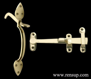 Gate Latches - Traditional - Cabinet And Drawer Knobs ...