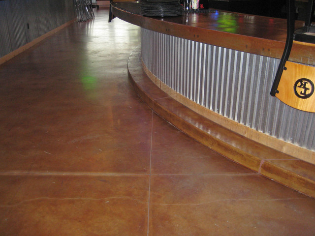 Stains and Dyes - Modern - Flooring - minneapolis - by Concrete Arts