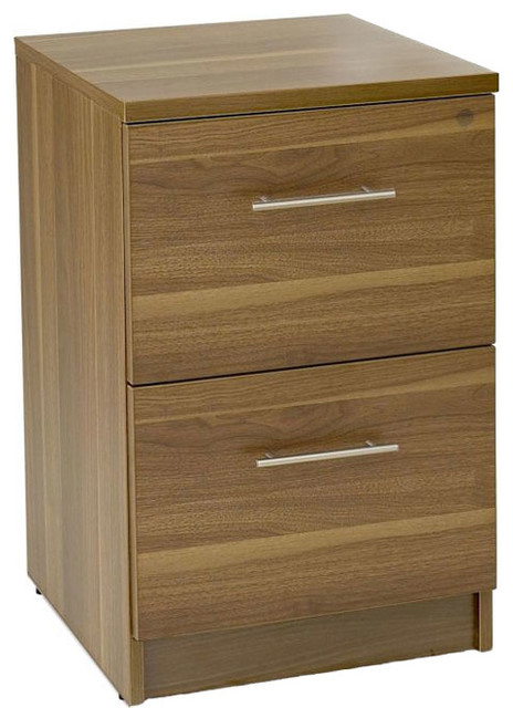 Two Drawer File Cabinet - Modern - Filing Cabinets - by Organize-It
