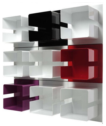 Modern Wall Shelving revitcity | object | contemporary wall shelf