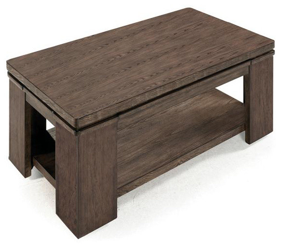Lift Top Cocktail Table Transitional Coffee Tables By Shopladder