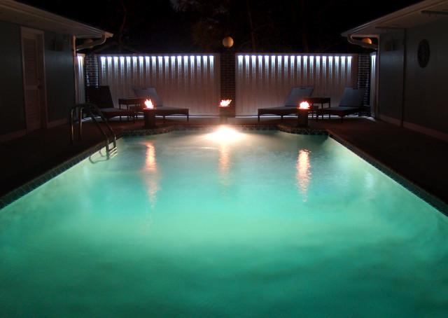 Led Pool Fence Lighting Modern Pool St Louis By