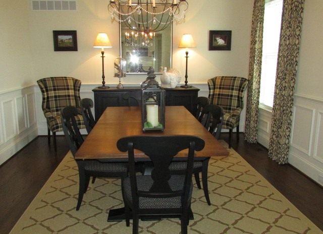 Sophisticated Transitional Home Design Transitional