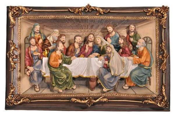 Last Supper Hanging Art Contemporary Artwork By