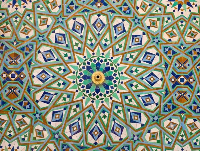 Moroccan Tiles 1 Wall Mural Contemporary Wallpaper