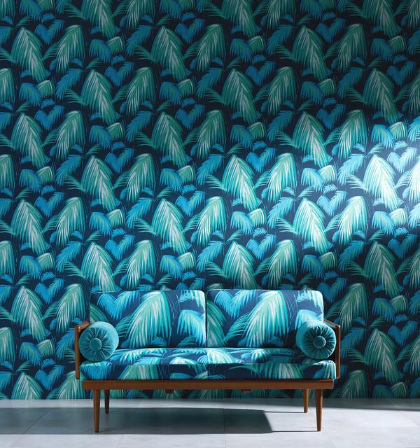 Wohnzimmer Farben Und Tapeten : – Modern – Tapeten – Sonstige – von Schulzes Farben- und Tapetenhaus