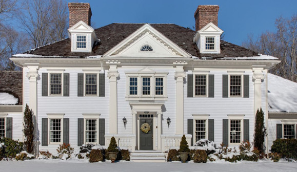 American georgian style for Georgian style home designs