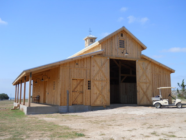 Rustic Barn Garage : Western barn for equine development rustic shed