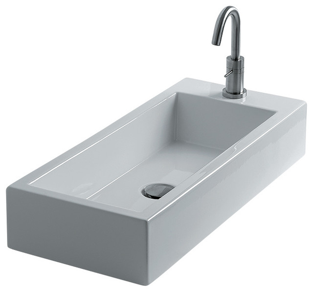 Hox vessel bathroom sinks large 70l contemporary bathroom basins by modo bath - Designer bathroom sinks basins ...