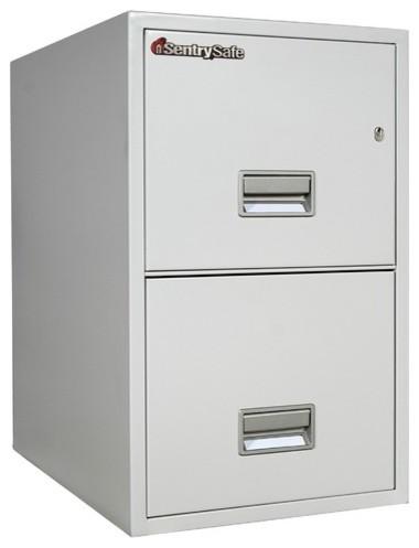 Hr Fireproof Key Lock 2 Drawer Letter File Safe modern-home-office ...