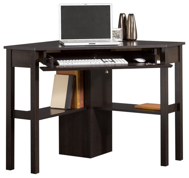 Space Saving Corner Computer Desk Great for Home Office - Contemporary ...