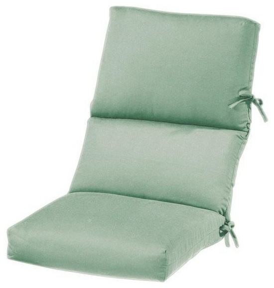 Outdoor High Back Chair Cushion Traditional Outdoor Cushions And Pillows