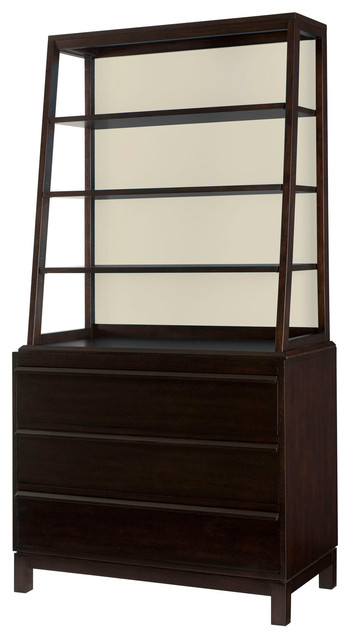 hammary hidden treasures bookcase contemporary side porada cell 1 2 3 4 bookcase side table