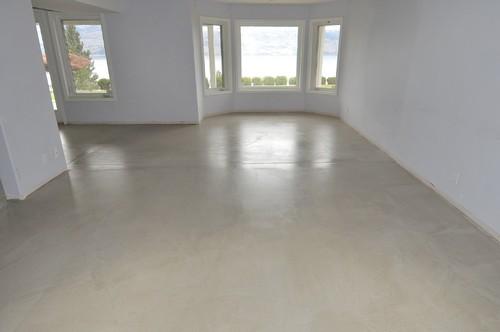 Paint Garage Floor Self Levelled