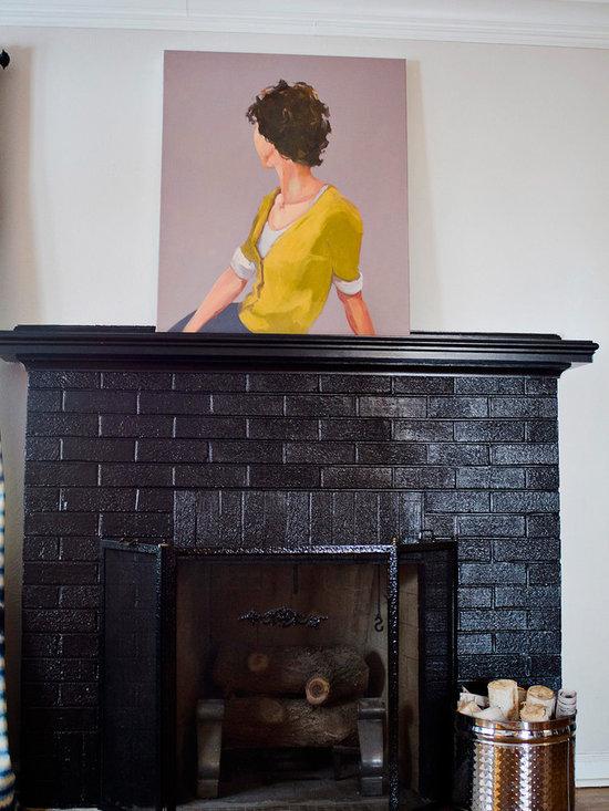 Brick Veneer Fireplace Surround Home Design Ideas ...