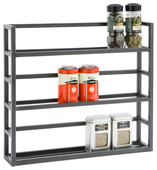 Iron Spice Rack - Traditional - Spice Jars And Spice Racks - by The Container Store