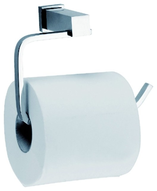 Dawn Square Series Toilet Paper Holder Satin Nickel