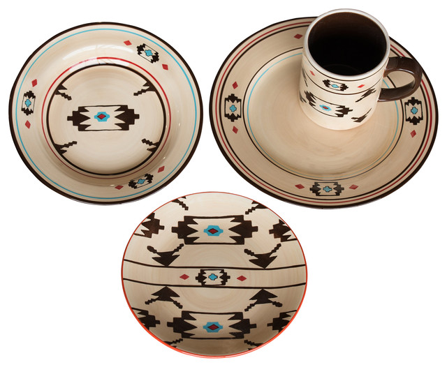 Artesia Native Dinnerware Set Southwestern Dinnerware