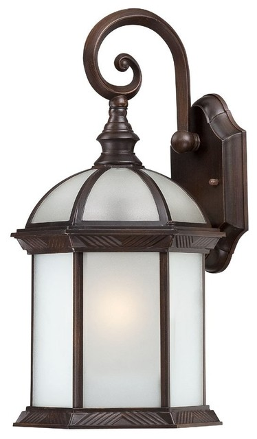 Transitional Outdoor Wall Lights : Satco Boxwood Transitional Outdoor Wall Sconce X-2894/06 - Transitional - Outdoor Wall Lights ...