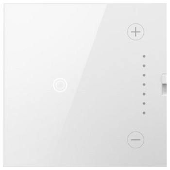 white touch wall universal dimmer light switch 700 watts adth700mmtuw2. Black Bedroom Furniture Sets. Home Design Ideas