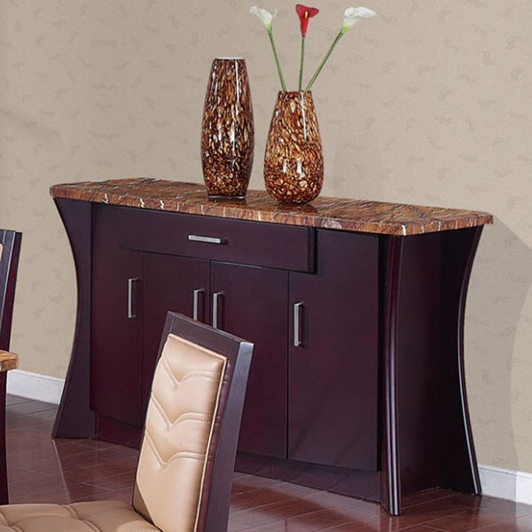 buffet table marble top 3