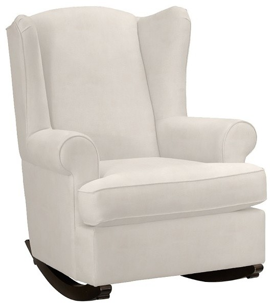 wingback rocker contemporain fauteuil d 39 allaitement. Black Bedroom Furniture Sets. Home Design Ideas