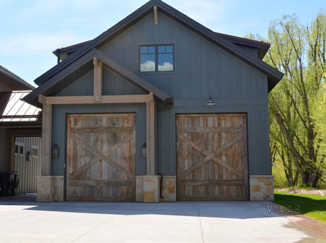 Barn Wood Garage Doors - Rustic - Garage Doors And Openers - salt lake ...