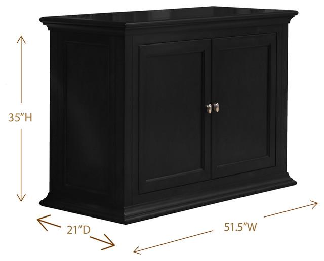 Lexington tv lift cabinet for flat screen tv 39 s up to 46 for Tv lift consoles for flat screens