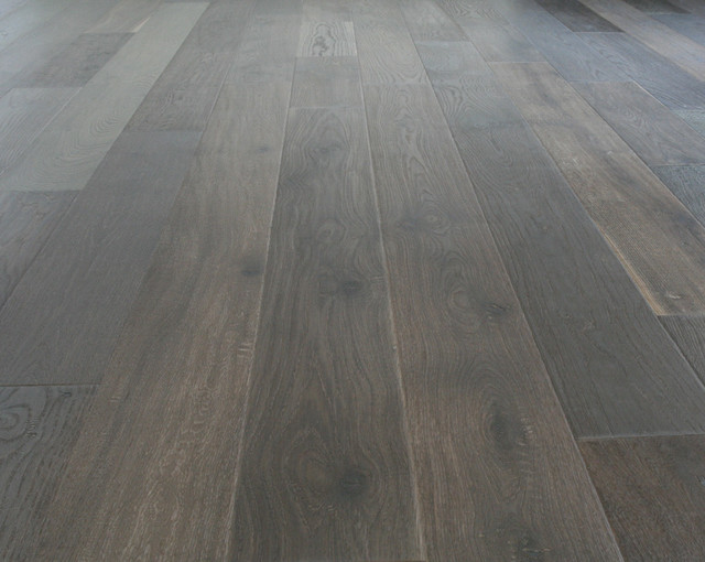 Alaska Oiled White Washed Prefinished Engineered Hardwood Flooring Contemporary