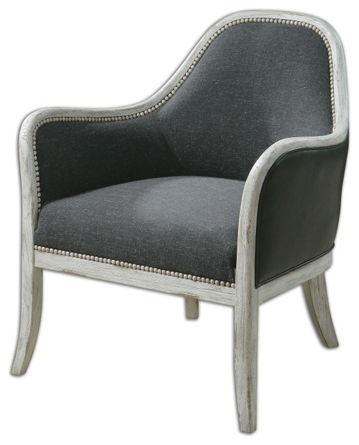 Dayla Accent Chair By Uttermost Transitional Armchairs And Accent Chairs